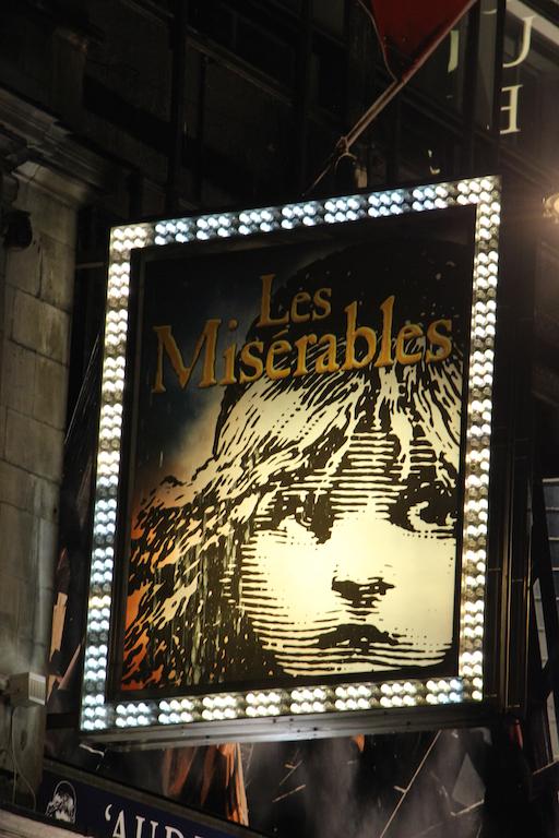 Les Misérables: musical a Londra