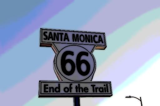Santa e la fine del viaggio