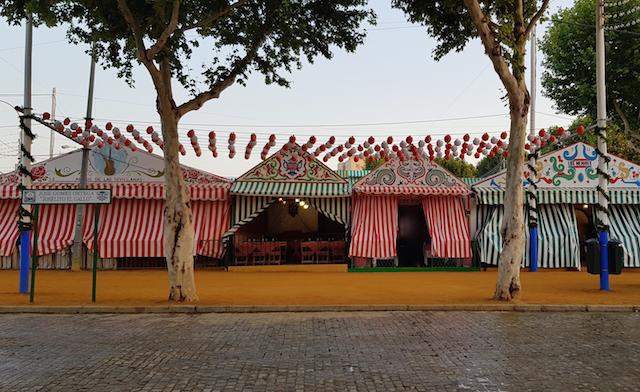 Casetas alla feria de Sevilla