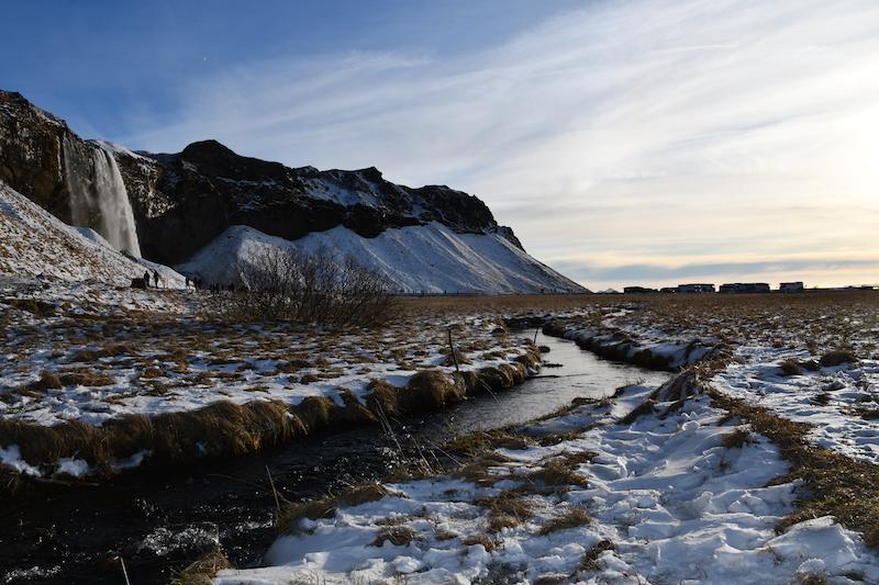 La cascata di Seljalandsfoss