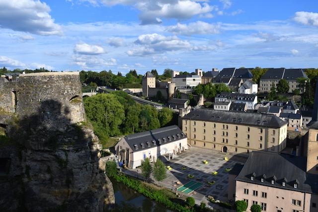 Scorcio di Lussemburgo Città